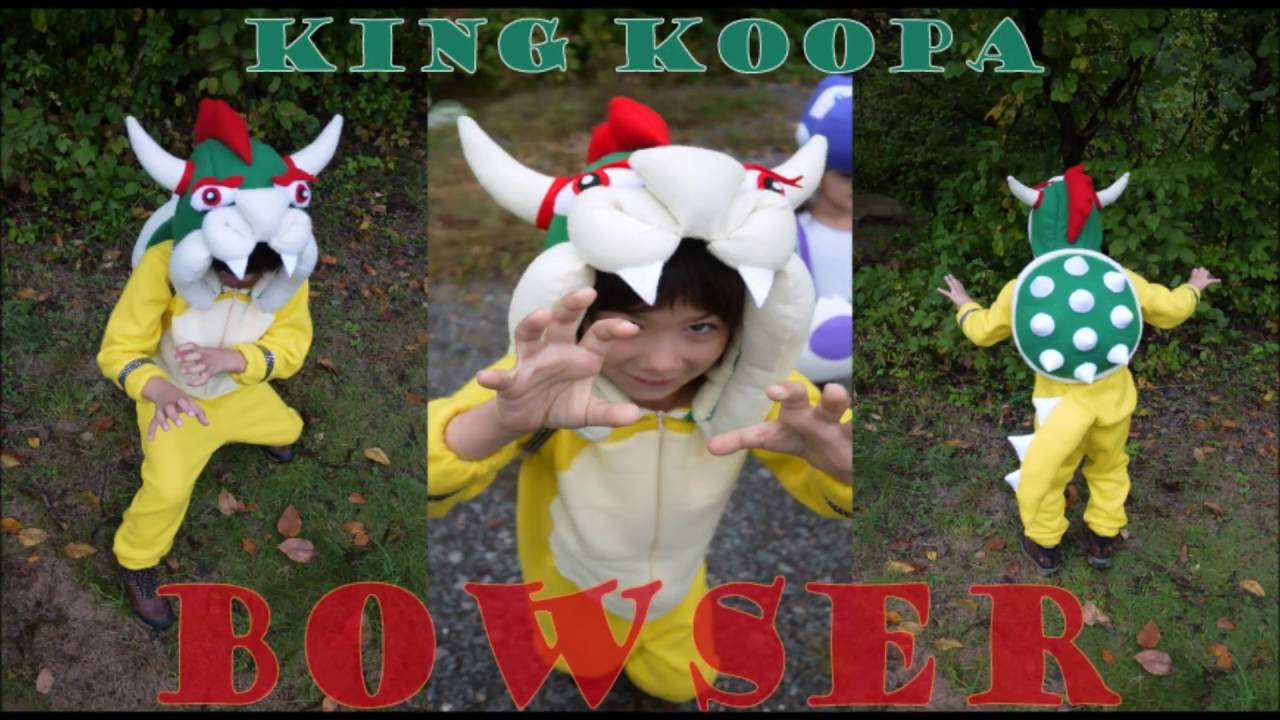 DIY Bowser Costume - YouTube bdacaede25