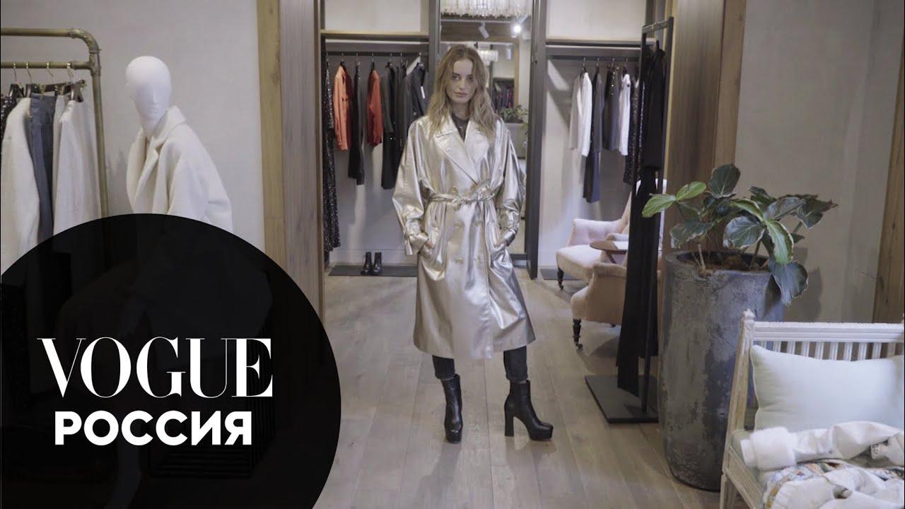 Соня Есьман в гостях у российских дизайнеров