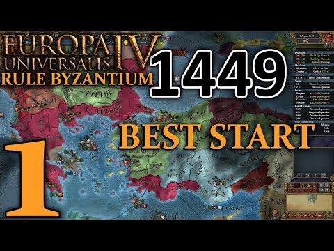 Let's Play Europa Universalis IV Rule Britannia Byzantium - Part 1