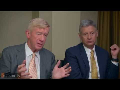 EXCELLENT INTERVIEW: Gary Johnson and William Weld- Libertarians