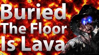 Buried: The Floor Is Lava Challenge (Black Ops 2 Zombies)