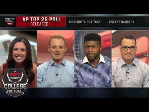 AP Top 25 preseason poll released: Alabama is No. 1 | College Football Live | ESPN