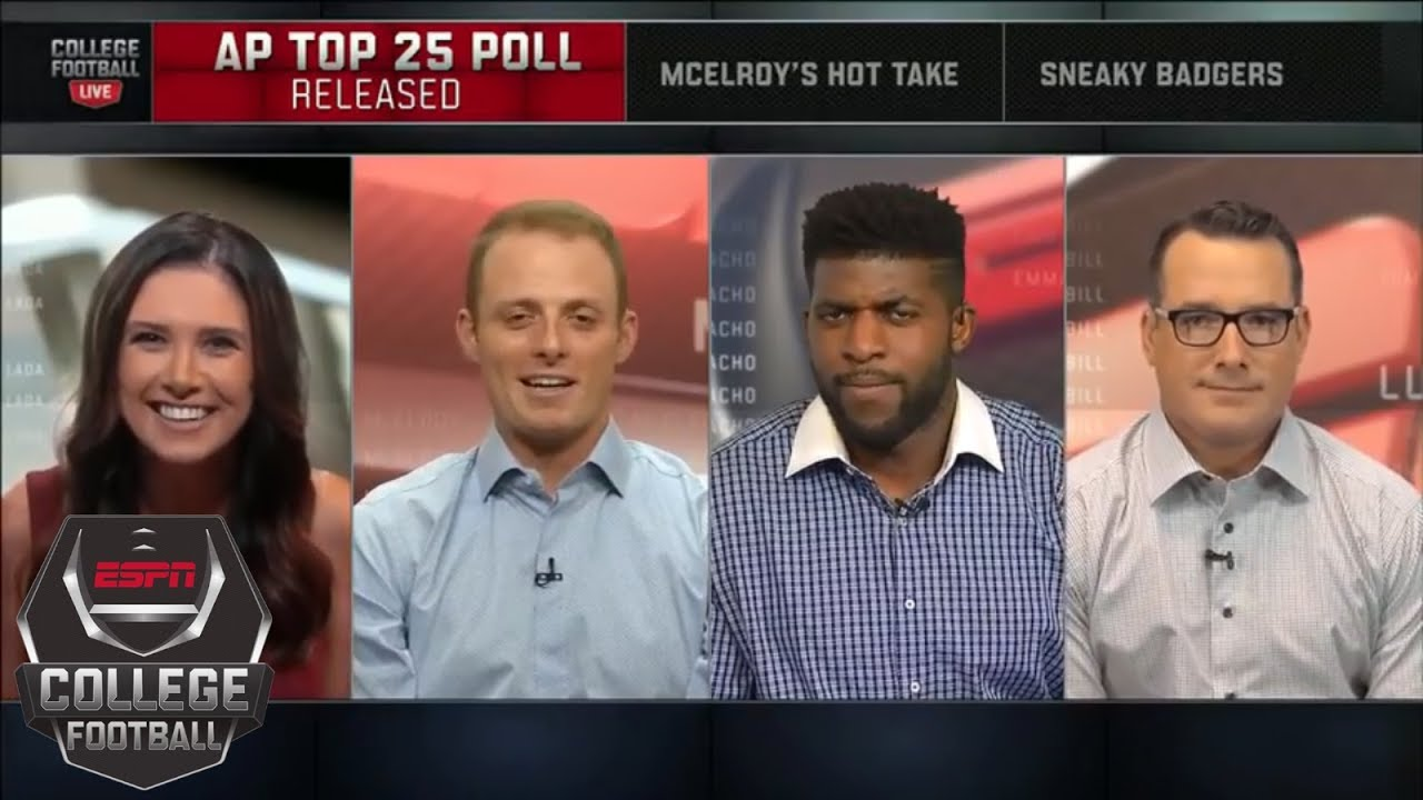 AP Top 25 preseason poll released: Alabama is No. 1   College Football Live   ESPN