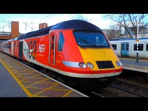 Trains at Stevenage, ECML - 19/12/18