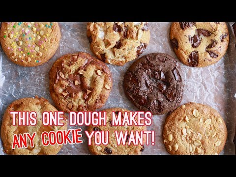 Crazy Cookie Dough: One Cookie Recipe with Endless Variations!