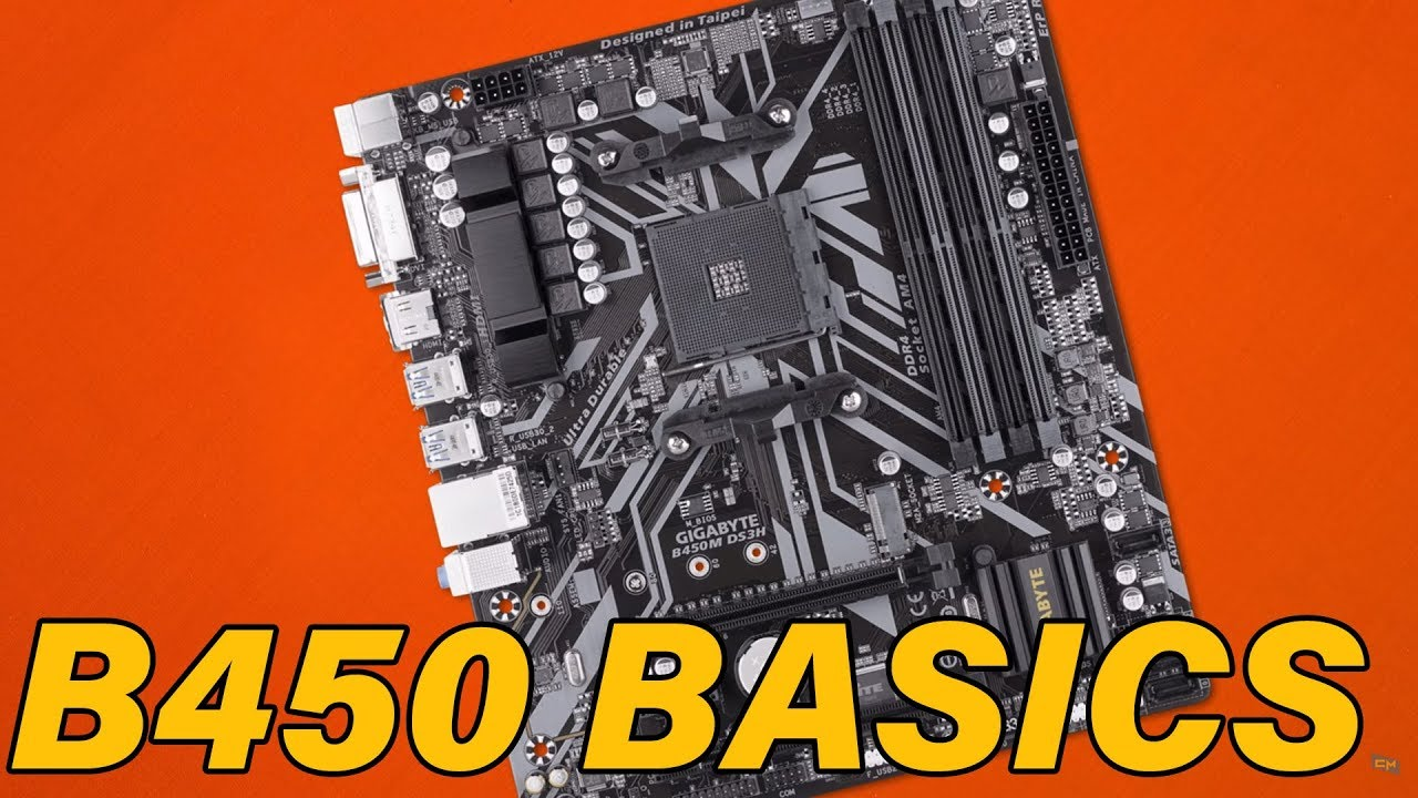 Solid Simple Gigabyte B450m Ds3h Youtube