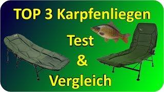 Karpfenliegen TEST & Vergleich   Top 3 Karpfenliegen Testbericht/Kaufempfehlung