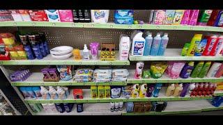 Dollar General Shampoo / Body Wash Shelf Organization 11-21-2019
