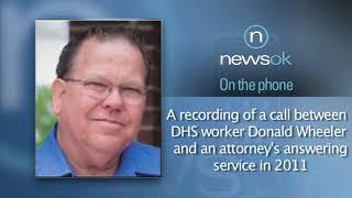 A phone conversation between Donald Wheeler and Attorney service (2012-11-13)