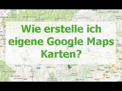google maps karte erstellen youtube. Black Bedroom Furniture Sets. Home Design Ideas
