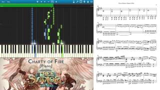 Tree of Savior - Charty of Fire [Piano transcription]