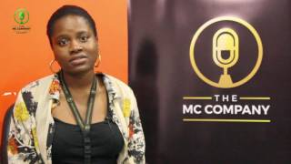 KUMI OMISORE AT THE MC COMPANY ACADEMY