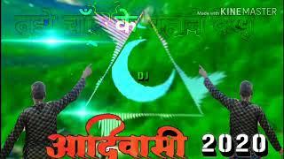 Tujhe Chand Ke Bahane Dekhu Tu chhat par Aaja goriye Adivasi song DJ