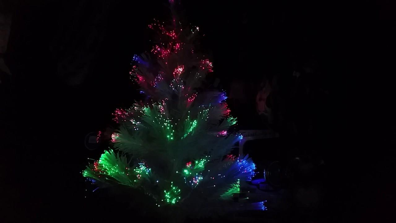 lighted fiber optic mini christmas tree 2016 - Mini Fiber Optic Christmas Tree