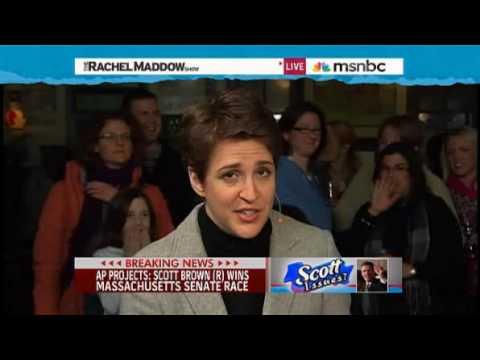 Rachel Maddow- Brown wins Kennedy Senate seat