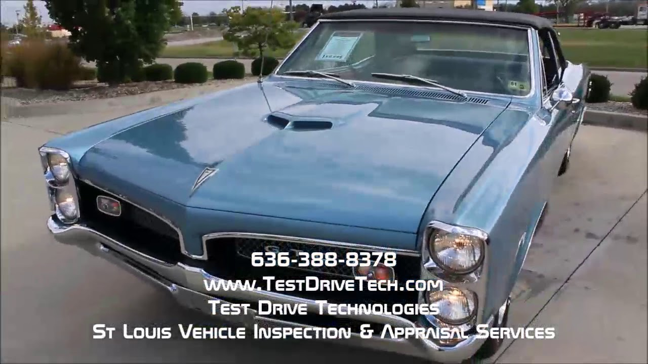 1967 Pontiac GTO Convertible Classic Car Inspection Video in St ...