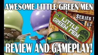 Awesome Little Green Army Men Unboxing and Gameplay!