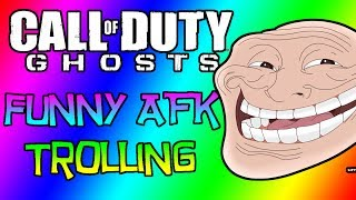 COD Ghosts Funny Moments #13 - AFK Trolling on Search and Rescue, Super Funny Reactions