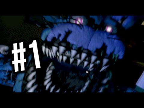 FIVE NIGHTS AT FREDDY'S 4 — NOT SCARY?… (Night 1, Night 2)
