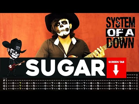 System Of A Down - Sugar (Guitar Cover By Masuka W/Tab)