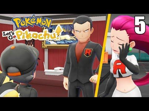 ¡NOS INFILTRAMOS EN EL EQUIPO ROCKET! 👊 CUARTO GYM - Pokémon Let's Go #5 En Español - Switch thumbnail