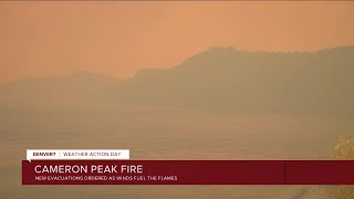 Cameron Peak Fire Flares Up Overnight And Wednesday, Triggering New Evacuations