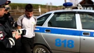 В Кемерове пьяный водитель едва не задавил полицейского