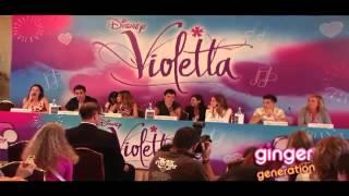 Violetta - Conferencia de Prensa en Milan (Parte 2)