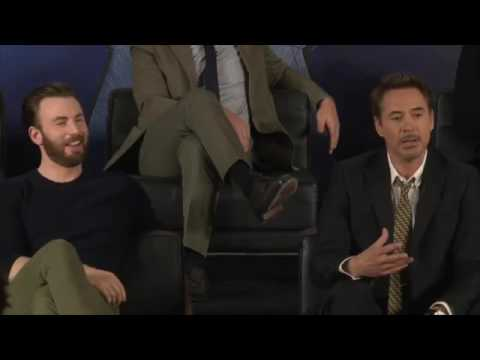 CAPTAIN AMERICA CIVIL WAR European Press Conference In Full (HD)
