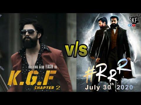 KGF Chapter 2 vs RRR Movie | KGF Chapter 2 Movie | RRR Movie| Yash | Jr. NTR | Ramcharan | Rajamouli