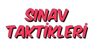 SINAV TEKNİKLERİ