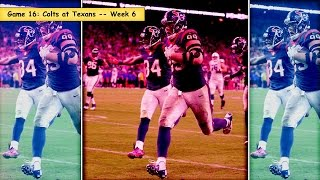 Top 20 Games of 2014: #16 Indianapolis Colts vs. Houston Texans Week 6 Highlight