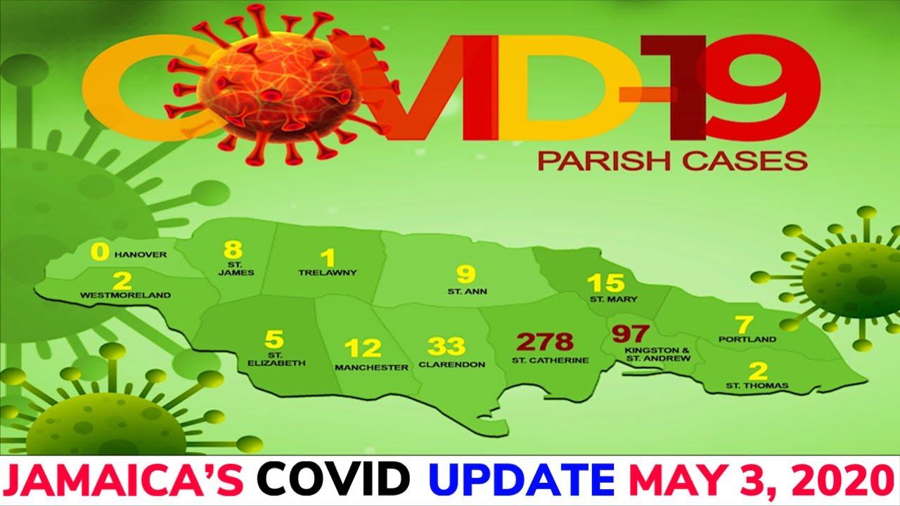 Jamaica's COVID summary May 3,2020 🇯🇲