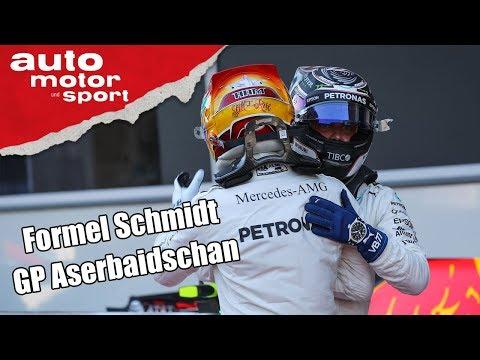 Gewinnt Mercedes jetzt alle Rennen? - Formel Schmidt zum GP Aserbaidschan   auto motor und sport