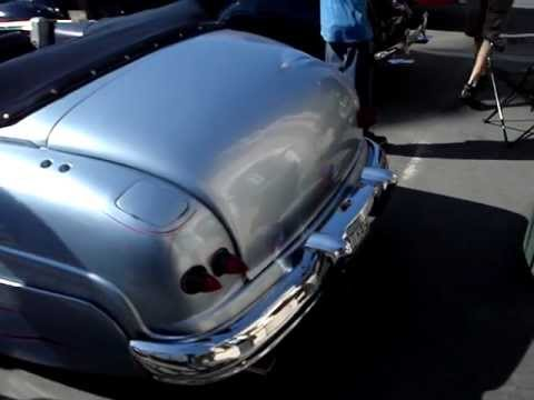 Custom Merc with '59 Cadillac taillights - YouTube