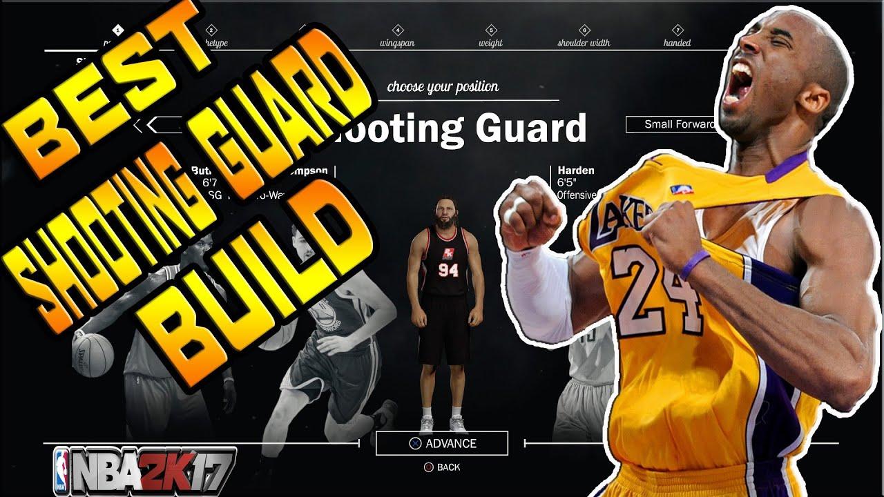 K Best Shooting Guard Build