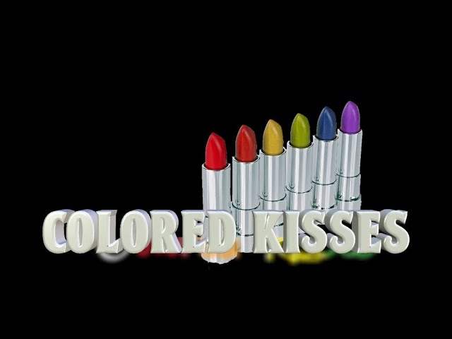 Colored Kisses
