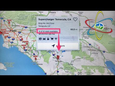 Tesla Supercharger Map & App Update - YouTube