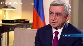 Հայաստանը ԵՄ-ԵԱՏՄ գործակցության լավ օրինակ է. Նախագահի հարցազրույցը Euronews-ին