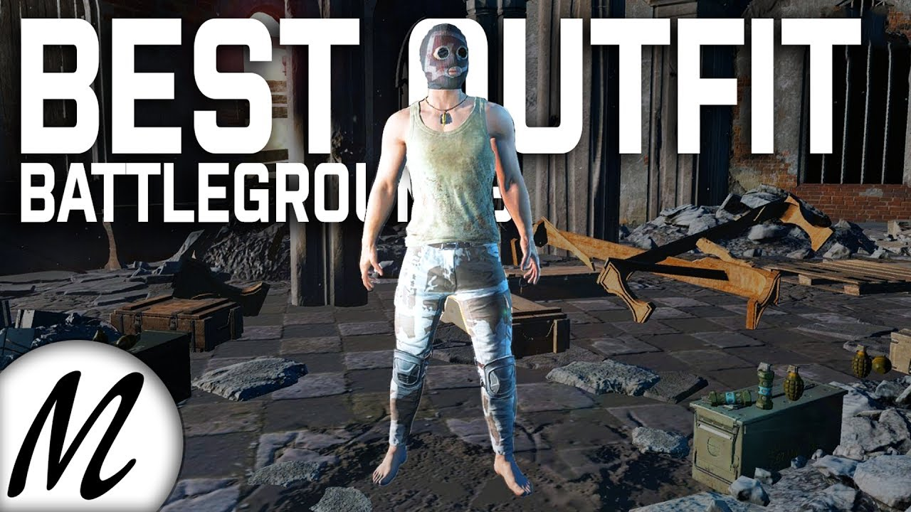 The Best Outfit In Pubg For Camouflage Battlegrounds