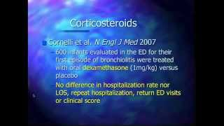 Bronchiolitis and Croup Lecture by Dr. Lopez at GCEP