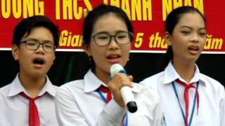 Mùa thu ngày khai trường - Lợp 8D - THCS Thành Nhân - Ninh Giang