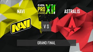 CS:GO  Natus Vincere vs. Astralis [Dust2] Map 1  ESL Pro League Season 12  Grand Final  EU