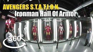 360° VIDEO Marvel Avengers STATION Ironman Hall Of Armor