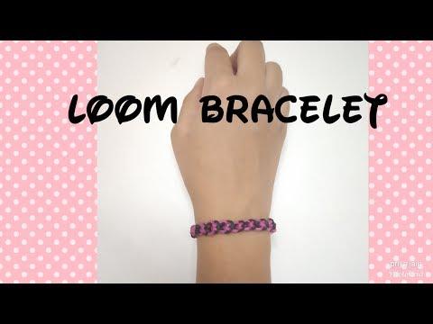 How To Make: Loom Bracelet With Fingers| Inverted Band Bracelets| EASY TUTORIAL| Friendship Bracelet
