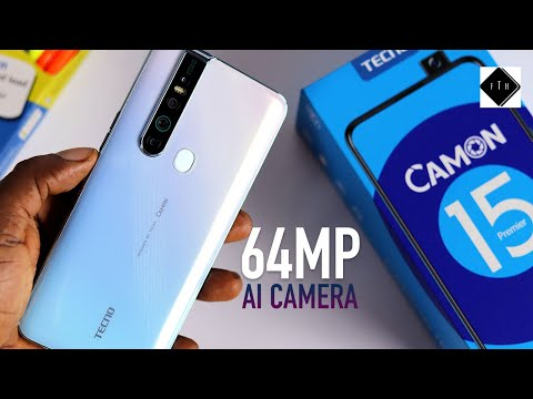 Tecno Camon 15 Premier Unboxing and Review! The 64mp Camera beast