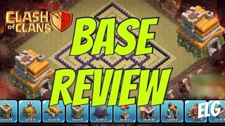 Clash of Clans TH7 Farming Base - Town Hall 7 Defensive Base - Trophy/War Base - Base Review