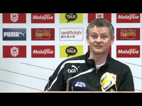 Cardiff City manager Ole Gunnar Solskjær on the FA Cup and a return to Old Trafford -- video