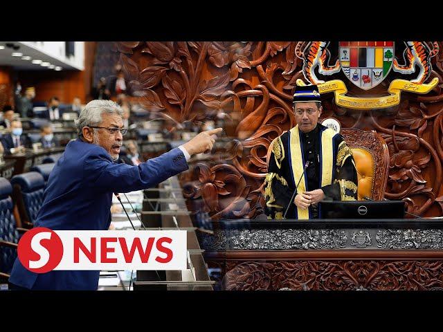 Newly-minted Speaker Art Harun boots Khalid Samad from Dewan Rakyat - The Star