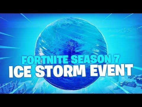 Season 7 Ice Storm Event (Fortnite Battle Royale) thumbnail